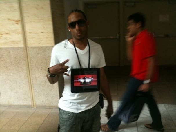iPad Chain makes Flavor Flav obsolete