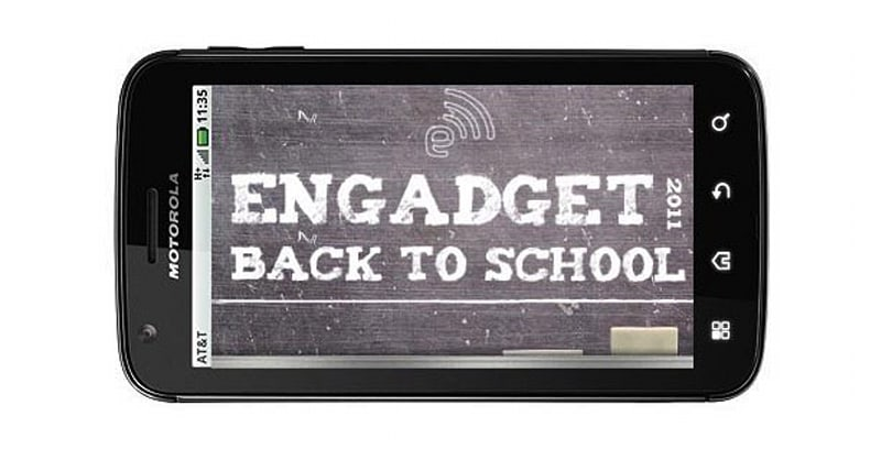 Engadget's back to school guide 2011: smartphones