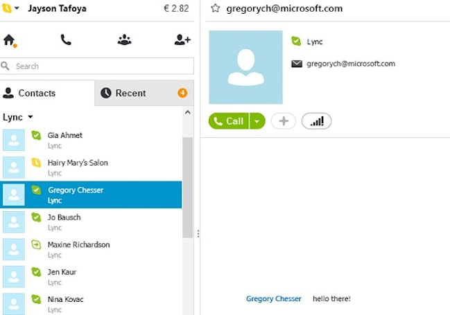 Skype links to Lync, for some serious Microsoft synergy