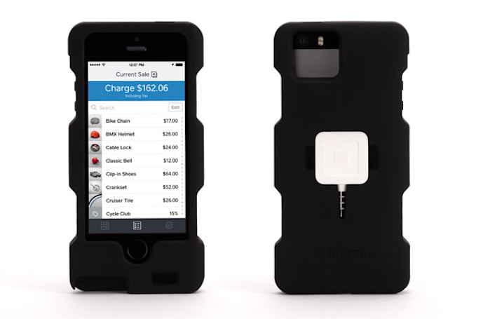 Griffin launches iPhone 5 case for merchants who use Square card readers