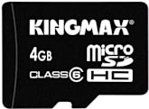 Kingmax busts out world's first 4GB microSDHC card