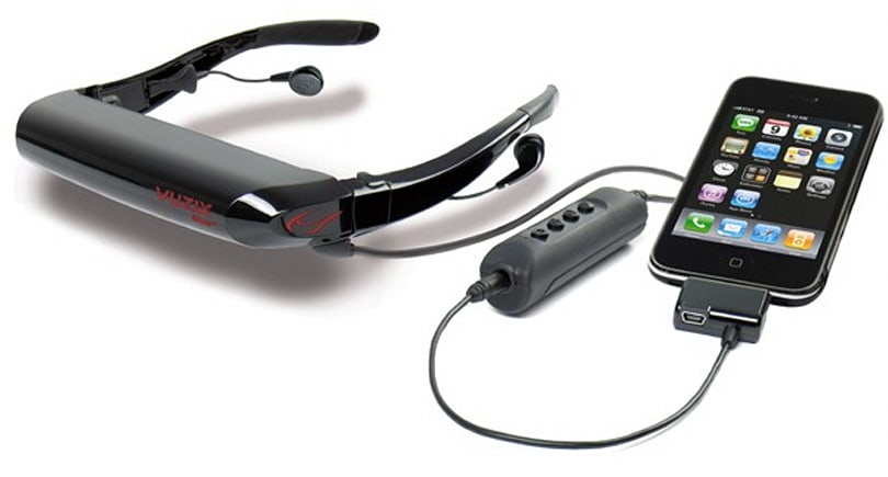 New cable brings iPhone, 3D support to Vuzix eyewear