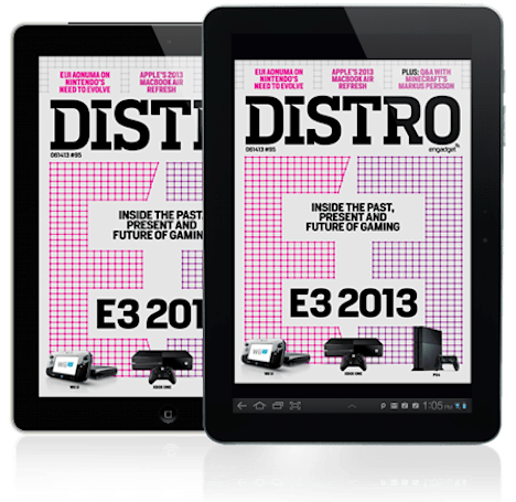 Distro Issue 95: The past, present and future of gaming converge at E3