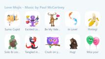 ポール・マッカートニー、Skypeのバレンタインデー絵文字企画「Love Mojis」に録りおろしBGM提供