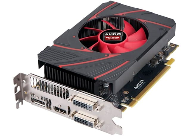 This new, low-end AMD graphics card's meant for budget-conscious PC gamers, and maybe Steam Machines, too