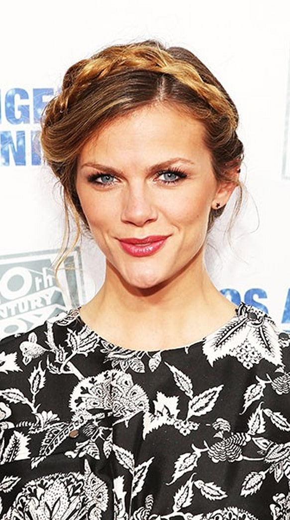 Look of the Week: Brooklyn Decker's Braided Updo