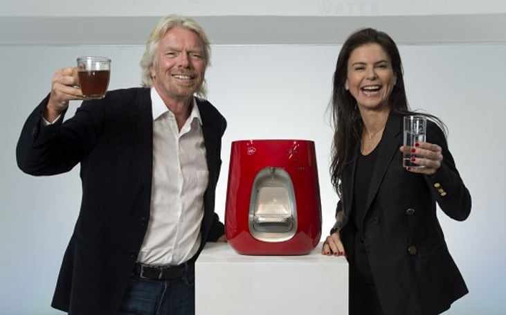 Virgin Pure water purifiers launch offensive against tap and bottled water in the UK