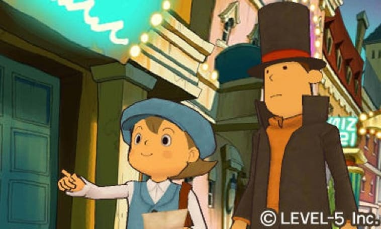 Professor Layton and the Mask of Miracle to offer daily downloadable puzzles