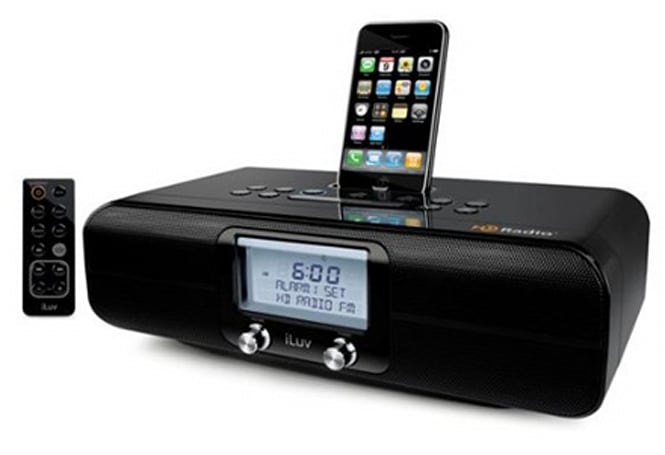 iLuv rolls out iHD171 HD radio with iPhone / iPod dock, iTunes tagging