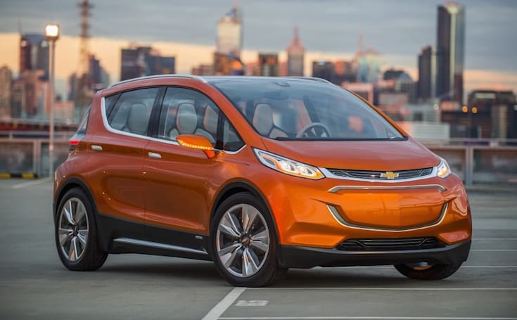 GM and LG are working together on the Chevy Bolt electric car