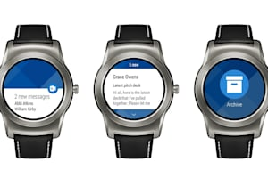 Outlook arrives for Android Wear devices