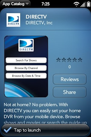 DirecTV DVR Scheduler quietly arrives in the WebOS App Catalog