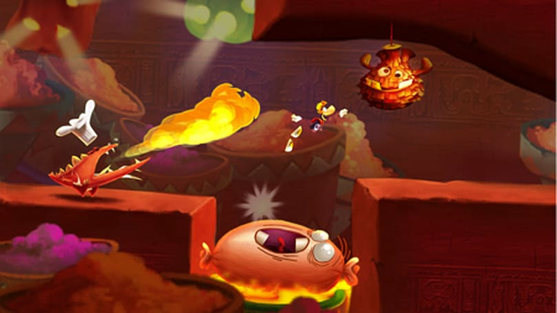 Daily iPhone App: Rayman Fiesta Run offers break-neck fun