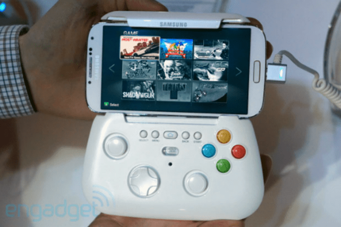 Samsung's mobile controller prototype is kinda adorable