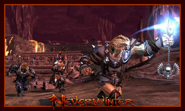 The Stream Team: Playing a Dragonborn in Neverwinter
