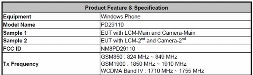 HTC PD29110 Windows Phone 7 device hits the FCC, sports T-Mobile frequencies