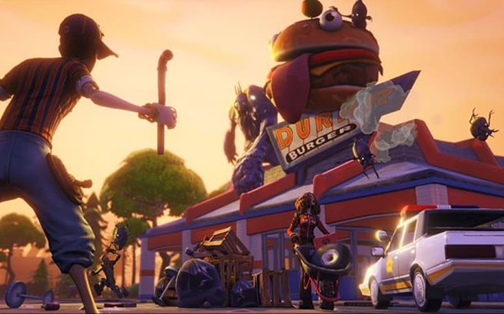Epic's Fortnite is a 'fresh and bubbly' co-op survival sandbox game