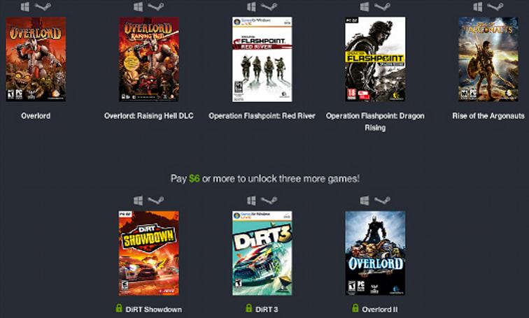 Humble Weekly Codemasters sale: Overlord, Operation Flashpoint