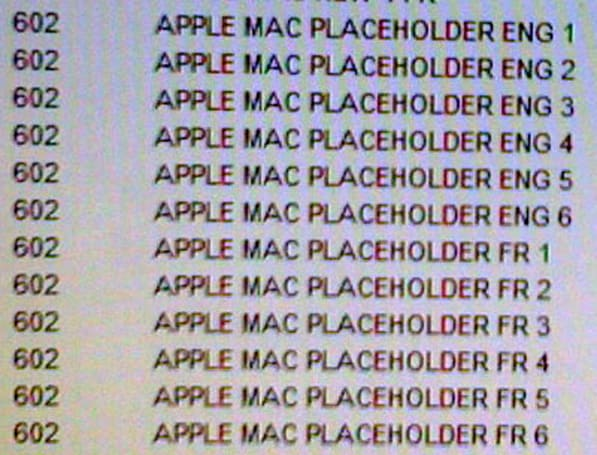 New Mac placeholders appear in Future Shop stock system