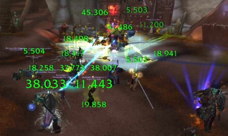 Healer representation in Mists of Pandaria