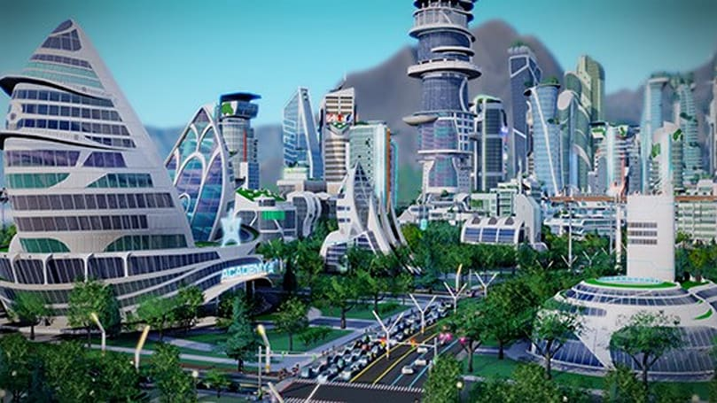 SimCity Cities of Tomorrow launch trailer is here today