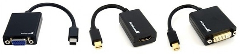 New Mini DisplayPort video adapters from StarTech