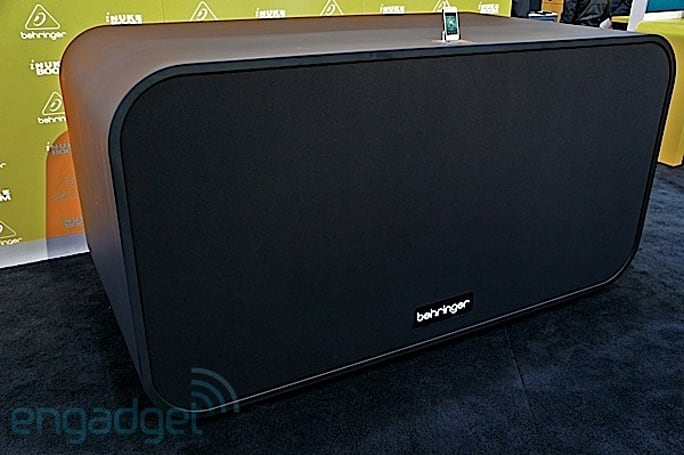 Visualized CES Edition: Behringer's iNuke Boom speaker dock, a 10,000-watt altar for your iPod