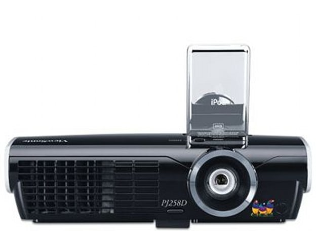ViewSonic's PJ258D projector with iPod dock reviewed