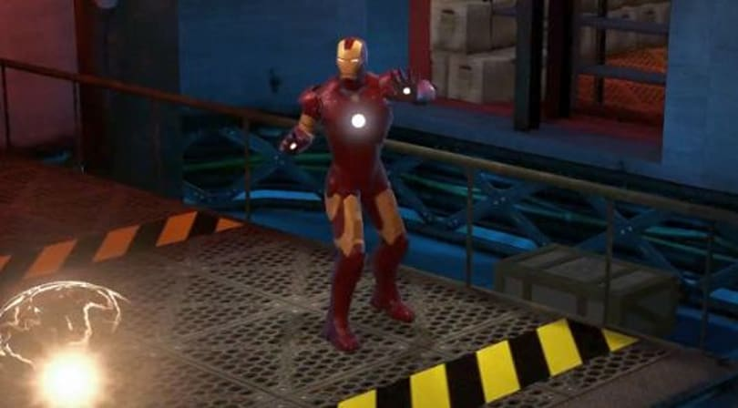 Marvel Heroes shows off Iron Man in action
