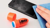 キングジム『iガラコ』発表。ソフト99共同開発のスマートフォン用タッチパネルコーティング剤