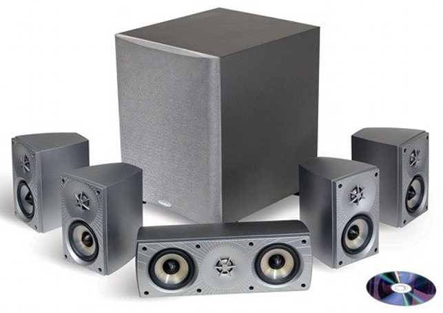 Engadget's recession antidote: win a Paradigm Cinema 70 CT surround system!