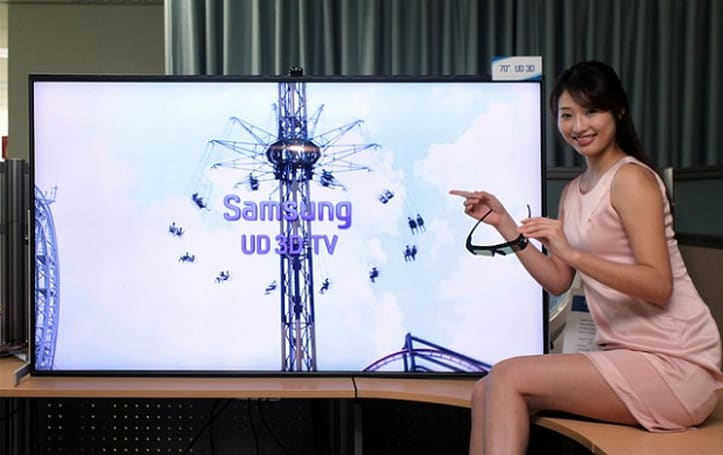 Samsung bringing 85-inch ultra high definition TV to CES