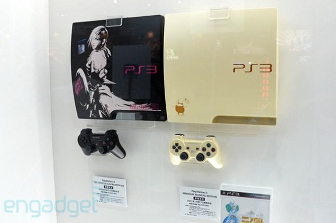 Sony outs trio of limited edition PlayStation 3 consoles, keeps it fresh with a few paint jobs