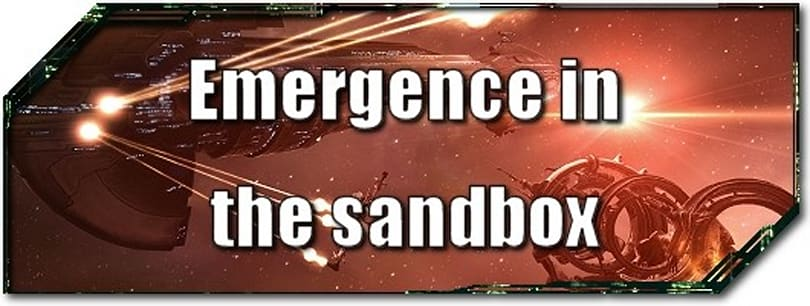 EVE Evolved: Emergence in the sandbox