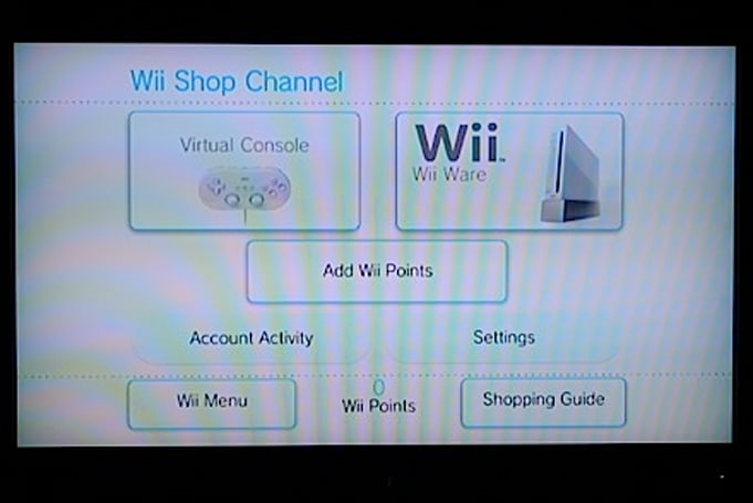 Wii store now open for business