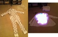 iPhone-controlled LED suit is actually not going to Burning Man