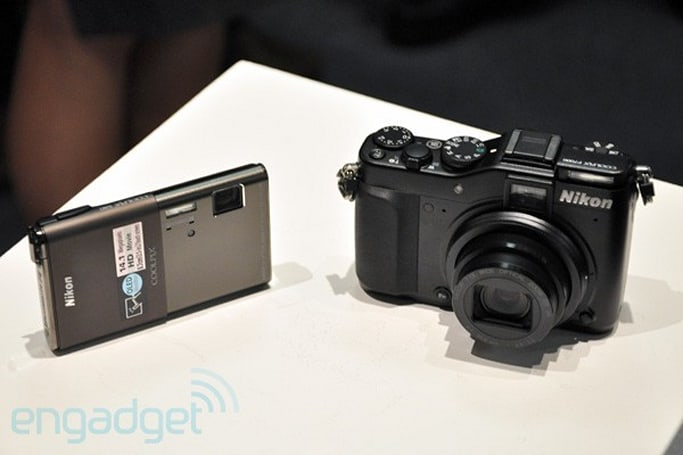 Nikon Coolpix S80 and P7000 hands-on