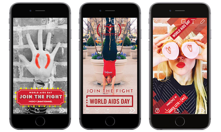 Use Snapchat Tuesday and the Gates Foundation will donate to AIDS prevention