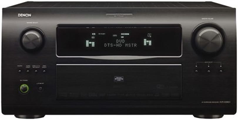 Denon throws in the Blu-ray player free with certain receiver purchases