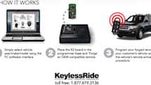 Keyless Ride's K2 poses as an OEM-compatible car remote, saves you time and money