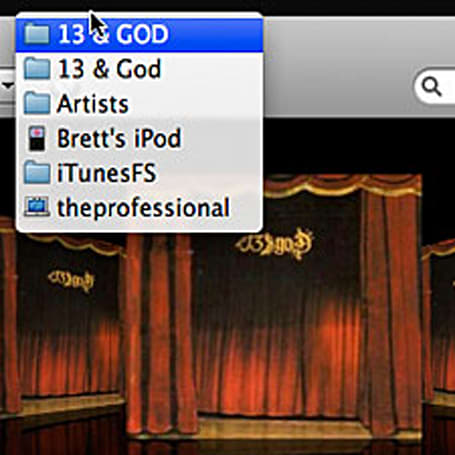 iTunesFS: your music in Finder