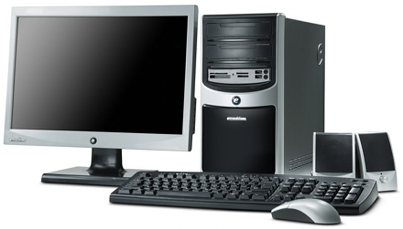 eMachines unveils three new desktops