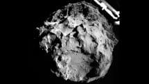 彗星探査機 Rosetta から離れた着陸機 Philae、史上初の彗星着陸成功。地表の成分分析などを実施予定