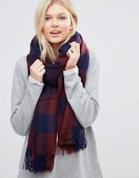 7X Plaid Oversized Scarf