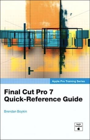TUAW Bookshelf: Final Cut Pro 7 Quick-Reference Guide