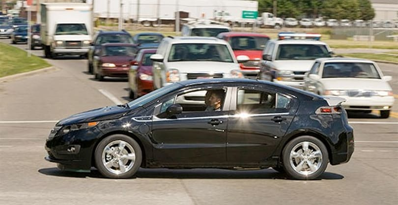 Chevy Volt's first pre-production model now on the road, in testing