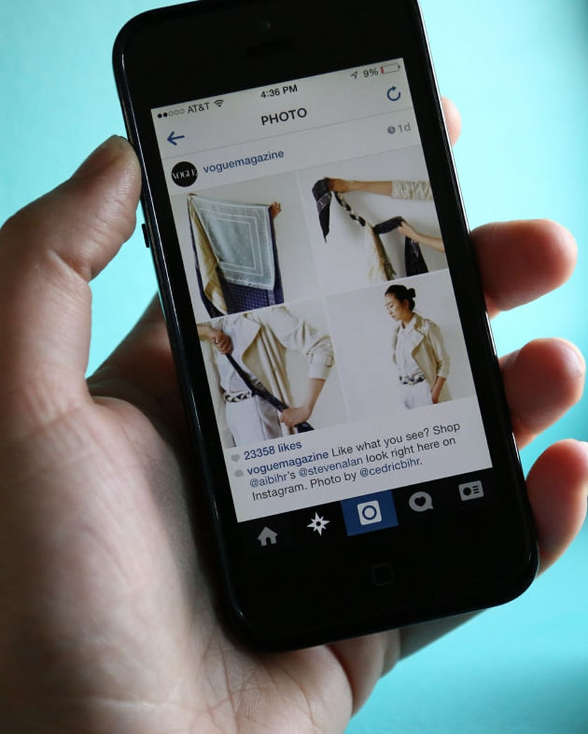 'Vogue' makes its Instagram shoppable with liketoknow.it