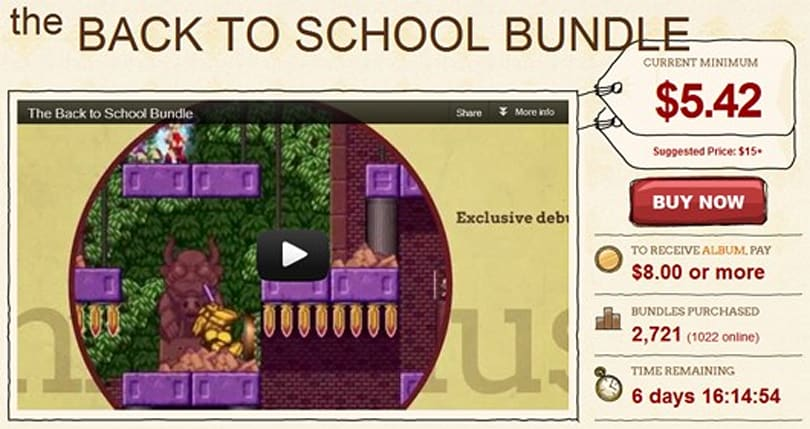 Indie Royale goes back to school with new seven-game bundle
