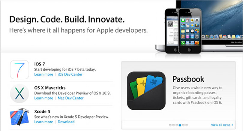 Apple's developer center back online, again