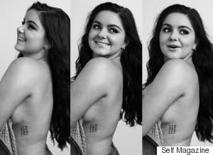 Ariel Winter Shows Off Breast Reduction Scars In Unretouched Photo